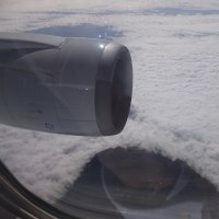 飛行機の窓から(羽田ー熊本便)2016.10.24