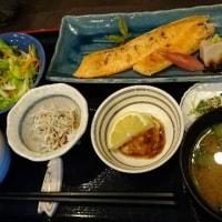 本日のランチは 『鮭のハラミ焼き』定食!