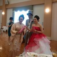 祝♪結婚式~o(*⌒―⌒*)o