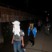 """5年ぶりの「夜の高尾山ムササビ観察ツアー」。子ども達も""""おかさん""""も大満足。"""