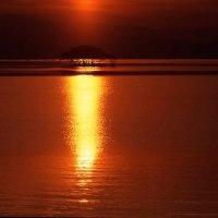 琵琶湖暮色
