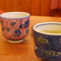 アトムとくーちゃんのパパから狭山茶を頂いてしまう@鎌倉七里ガ浜