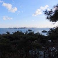 松島 双観山からパチリ