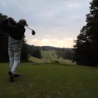雨女とのゴルフ②-1
