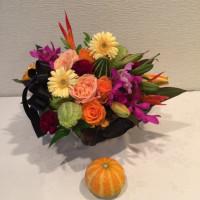 静岡講師会、ハロウィンのアレンジ。