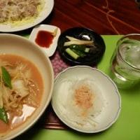 キムチ鍋 と 焼売