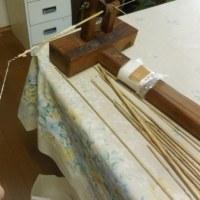 糸車と糸紡ぎ
