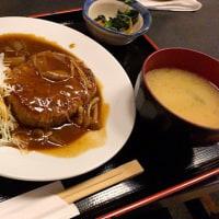 日替定食を頂きました。 at 串特急 神谷町店