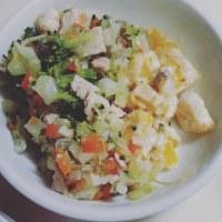 わんこ飯〜かぼちゃのニョッキと野菜とチキンのスープ煮