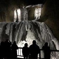 氷瀑ライトアップ見学に  ~アミーゴ~