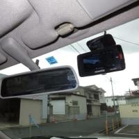 ドライブレコーダーDRV-610を取り付ける。