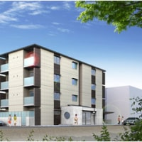 建築CGパース:集合住宅