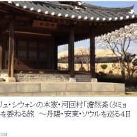 Rs:🌸春うらら🌸リュ・シウォンの本家・河回村「澹然斎(タミョンジェ)」に心を委ねる旅 ~丹陽・安東・ソウルを巡る4日間~