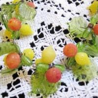 ガラスのフルーツモチーフネックレス