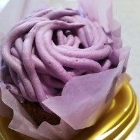 紫いもモンブラン~沖縄県産紫いもペースト使用~♪((O(〃⌒▼⌒〃)O))♪わくわく