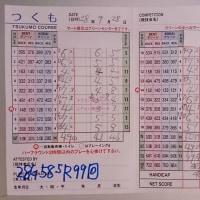 今日のゴルフ挑戦記(60)/新千葉CC「つくも」イン→アウト(ベント)