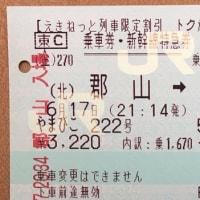 東北新幹線35周年記念~えきねっとトクだ値50切符の旅