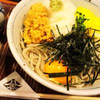 昼ご飯は、納豆そば(八雲 札幌国際ビル店)