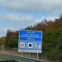 2016秋の欧州ドライブ  パリまで500km余り。