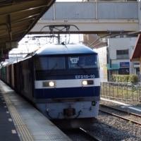 EF210-10号機@吹上駅