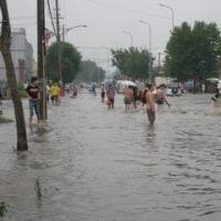 日曜日に続き今日も浸水