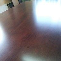 テーブル塗り替えました