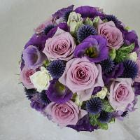 夏の紫:レストランダズル様(銀座)