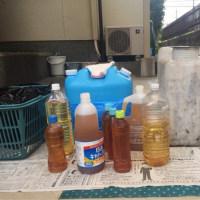 第132回使用済み天ぷら油の回収