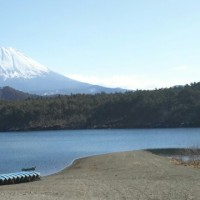 西湖~野鳥の森~精進湖~本栖湖