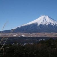 富士山を眺める山旅