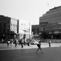 ヘルシンキ紀行・駅前風景