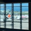 ワサワサな出発の朝@那覇空港