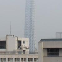 今朝の東京スカイツリー、2016/9/26