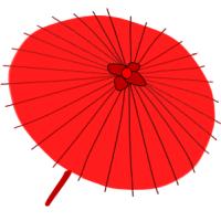 お気に入りの傘