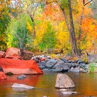 ○Red Rock ( Oak Creek Canyon,U.S.)  ...
