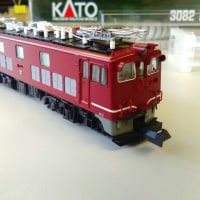 kato ED70 の入線・整備 その1