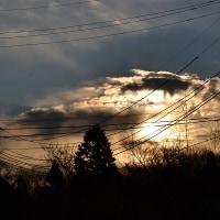 1月23日、午前7時過ぎの空模様
