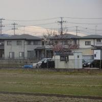 蔵王連峰と月山