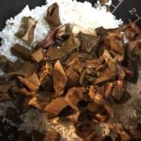 乾燥ポルチーニ茸の炊き込みご飯