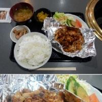鶏もも肉みそ焼定食/とり焼肉 一食堂(亀山市御幸町)
