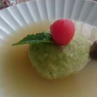 ★アボカド饅頭スープ