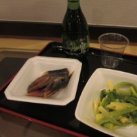 アサツキ酢味噌和え & 白鳥三羽 ・・・・!!!       № 5,456