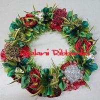 Tis the Season Christmas Mini Wreath