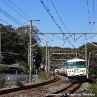 【鉄道写真】鴻巣・鎌倉間に運転された185系6両編成の団体臨時列車