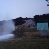 スキー場オープンの準備が進んでいます
