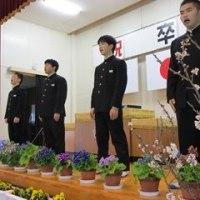 明日は卒業式・・・(3/13)