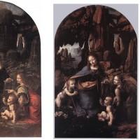 レオナルド・ダ・ヴィンチ作「岩窟の聖母」