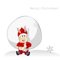クリスマスのフリーイラスト素材