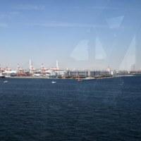 横浜港シンボルタワーの展望