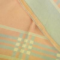 パステルピンク&水色ベビーブランケット/Pink & Blue Baby Blanket